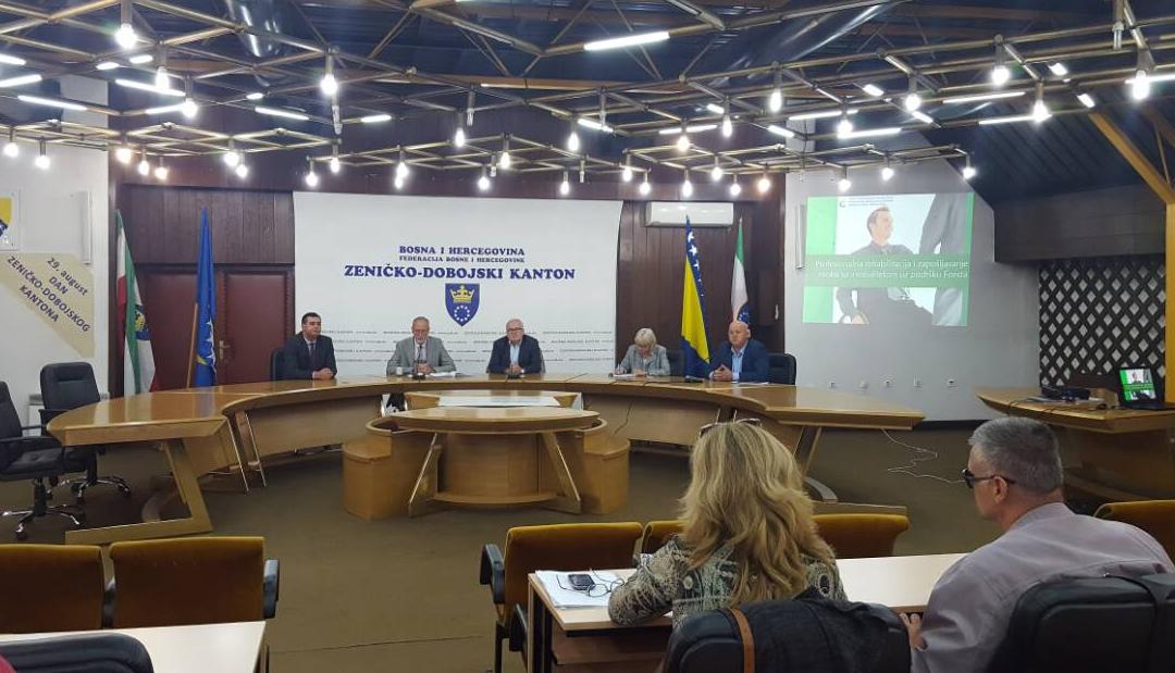 U Zenici održana prezentacija programa zapošljavanja Fonda za profesionalnu rehabilitaciju i zapošljavanje osoba sa invaliditetom