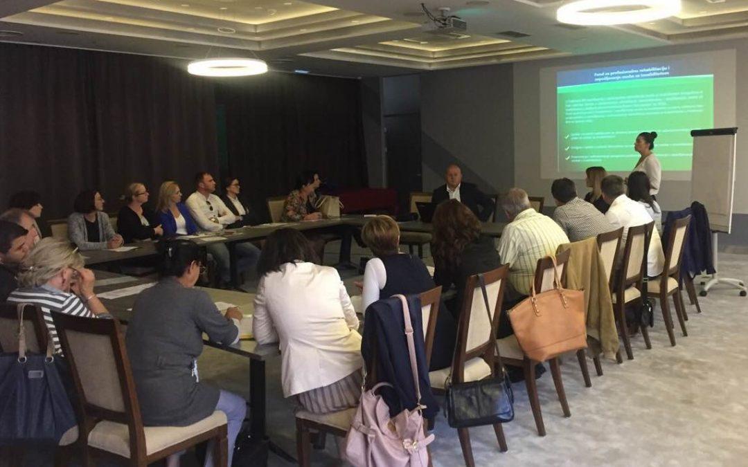 U Mostaru održana prezentacija programa zapošljavanja Fonda za profesionalnu rehabilitaciju i zapošljavanje osoba sa invaliditetom