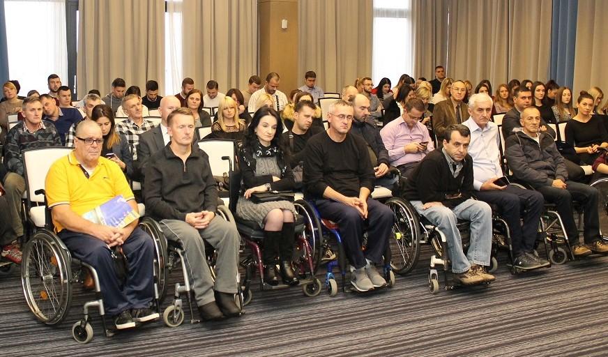 Fond za profesionalnu rehabilitaciju i zapošljavanje osoba sa invaliditetom učestvovao u radu konferencije u organizaciji Saveza paraplegičara i oboljelih od dječije paralize FBiH