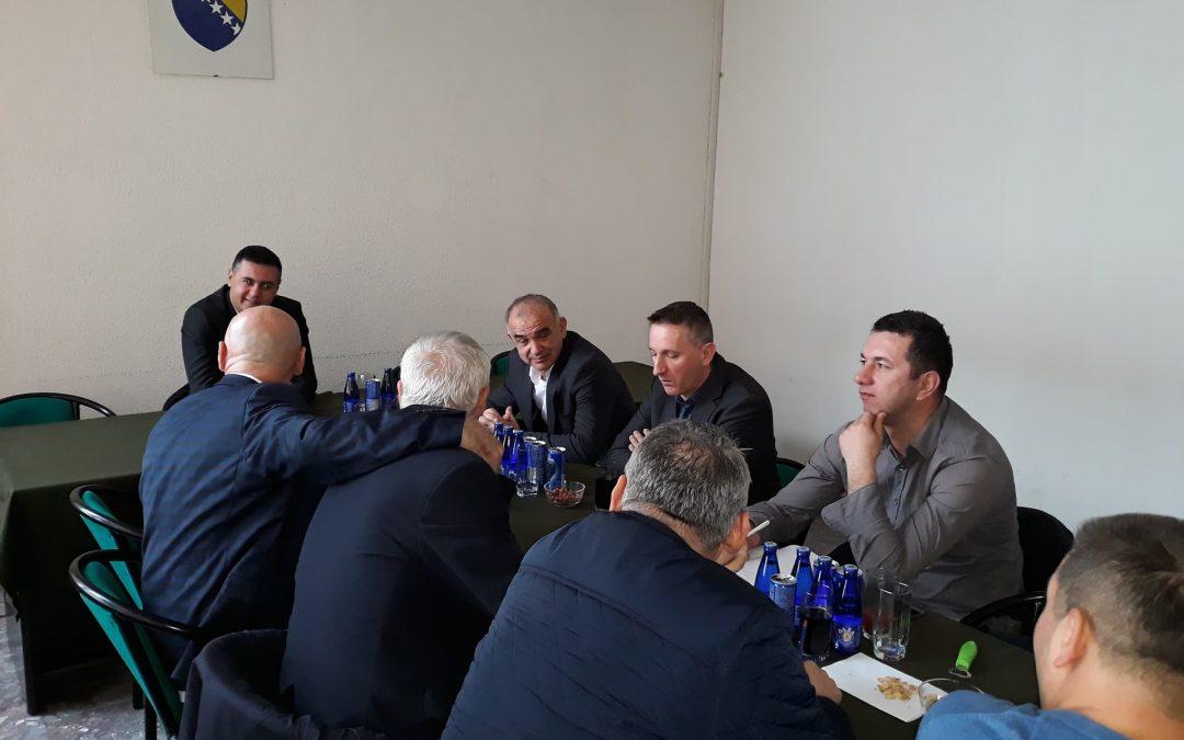 Održan sastanak sa načelnicima i saradnicima Općine Gornji Vakuf – Uskoplje, Općine Bugojno, Općine Donji Vakuf i Udruženjem RVI Donji Vakuf