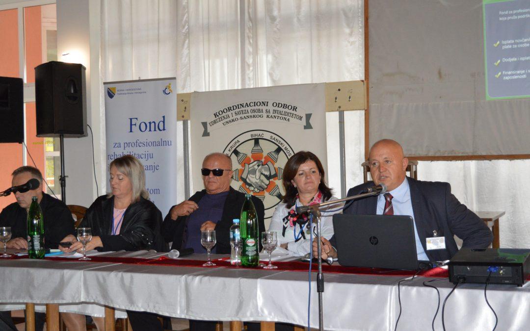 U Sanskom Mostu održana 12. Međunarodna konferencija o statusu i pravima osoba sa invaliditetom