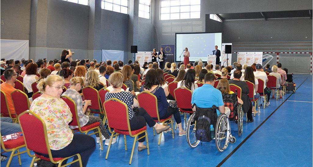 Prvi sajam zapošljavanja osoba s invaliditetom održan je u Mostaru