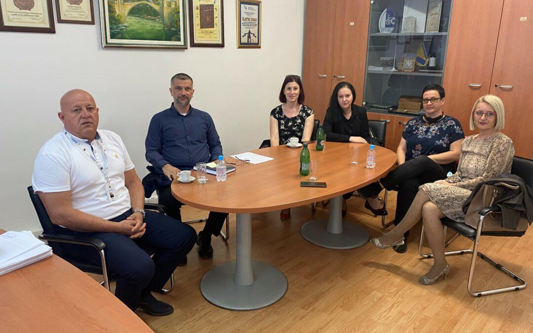 Fond posjetili predstavnici Javne ustanove Zavod za odgoj i obrazovanje osoba sa smetnjama u psihičkom i tjelesnom razvoju, Tuzla