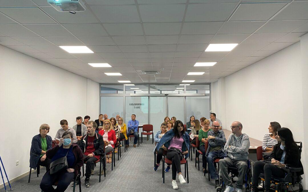 Održana prezentacija o mogućnostima zapošljavanja osoba s invaliditetom u Širokom Brijegu i Livnu